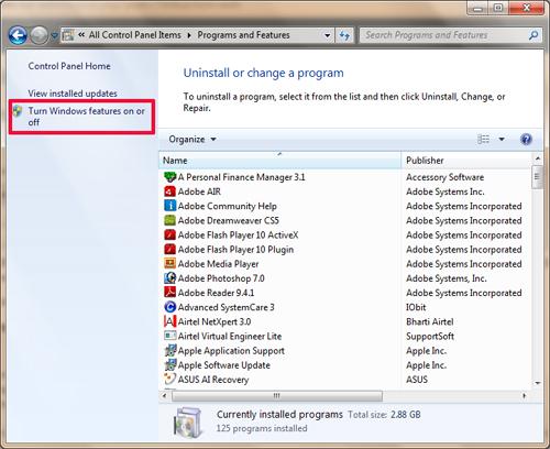 How to Run Classic ASP on IIS 7